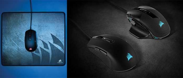 Corsair Introduced Gaming Mice For Left-handers & With A Bright Design
