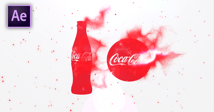 How To Create A Coca Cola Particular Animation After Effects Tutorial - Download Free Template