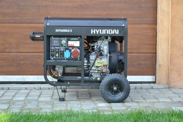 diesel generator Hyundai DHY 6000LE-3