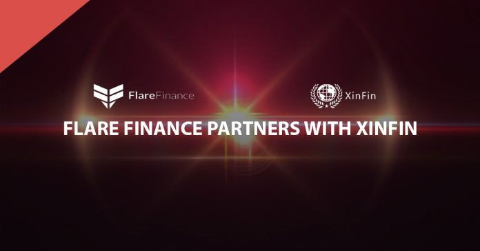 Flare Finance Announces Partnership with XinFin Network